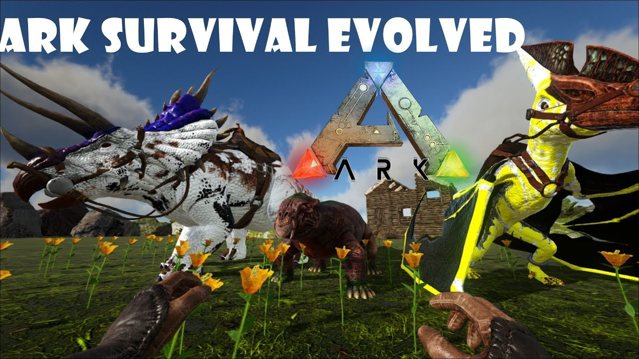 скачать ARK: Survival Evolved