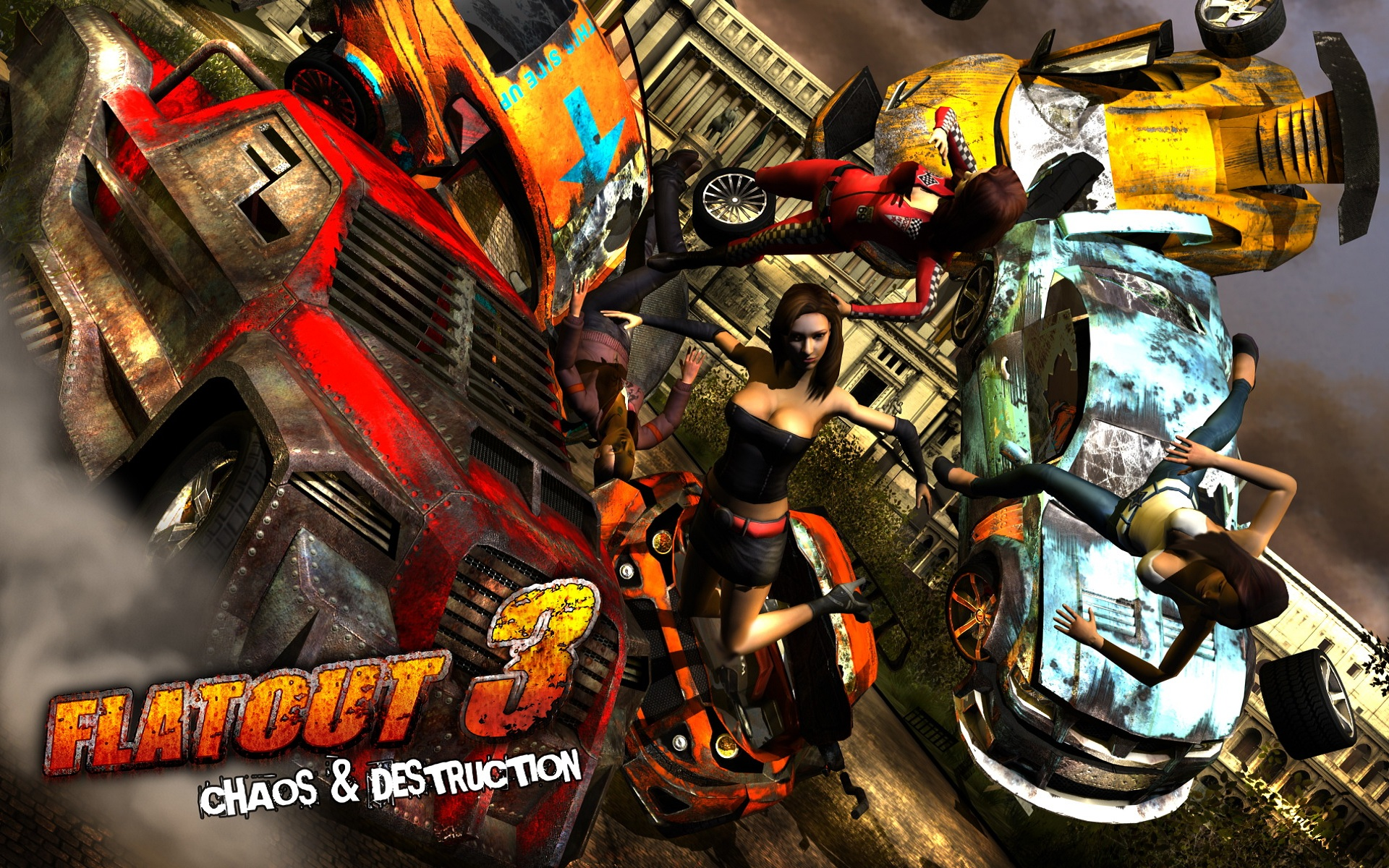скачать Flatout 3 Chaos and Destruction
