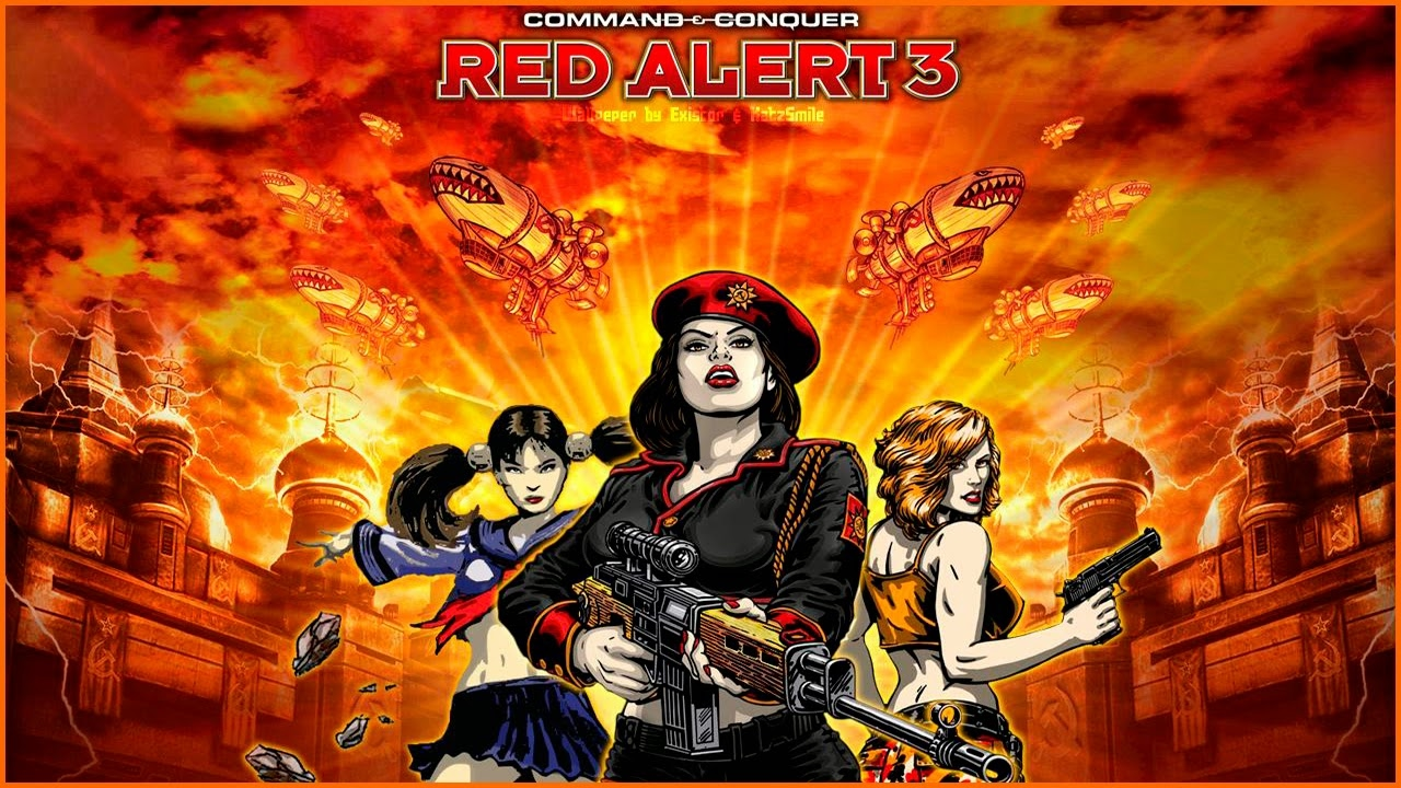 скачать Command and Conquer Red Alert 3