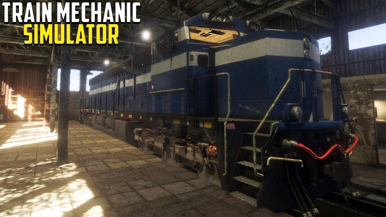 скачать Train Mechanic Simulator 2017